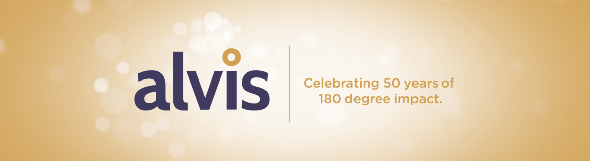 Alvis is Celebrating 50 Years of 180 Degree Impact