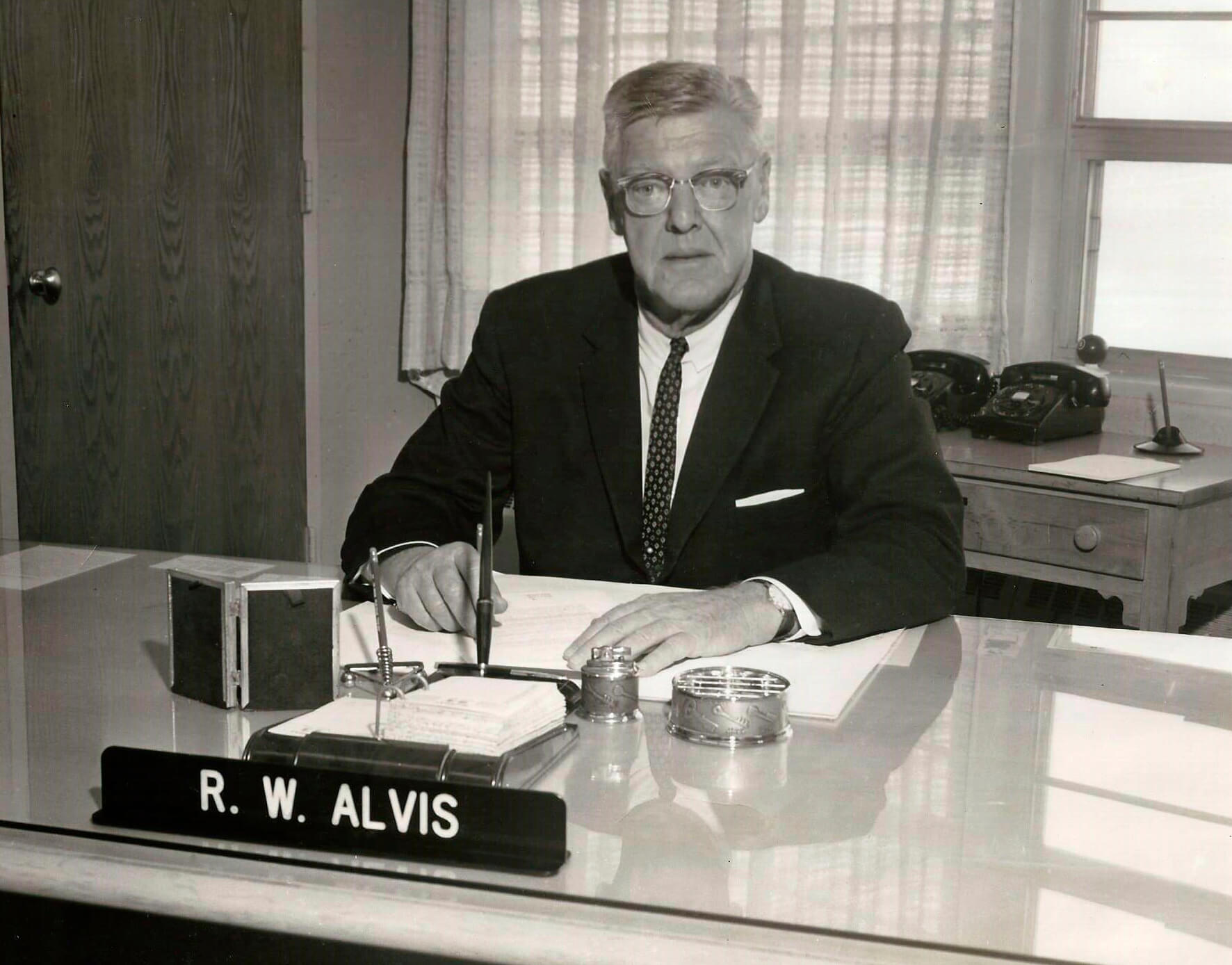 Who was Ralph Alvis?