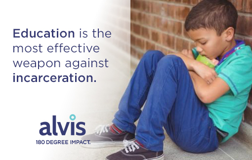 Education is the most effective weapon against incarceration. Give to the Alvis Back To School Backpack Drive